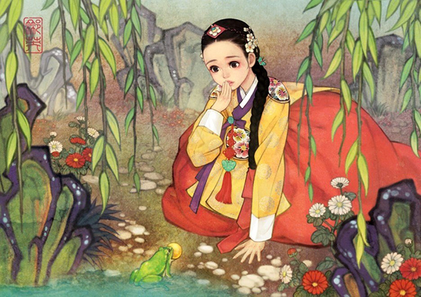 1asian-korean-disney-remake-illustration-na-young-wu-5
