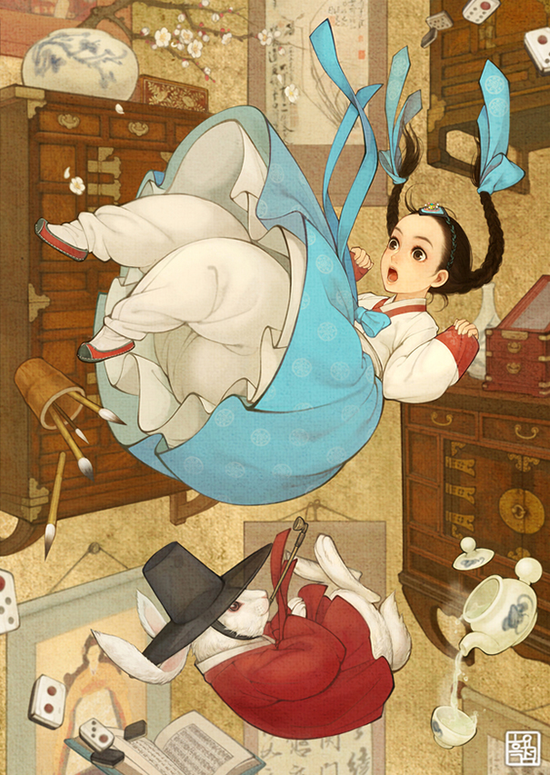1asian-korean-disney-remake-illustration-na-young-wu-7