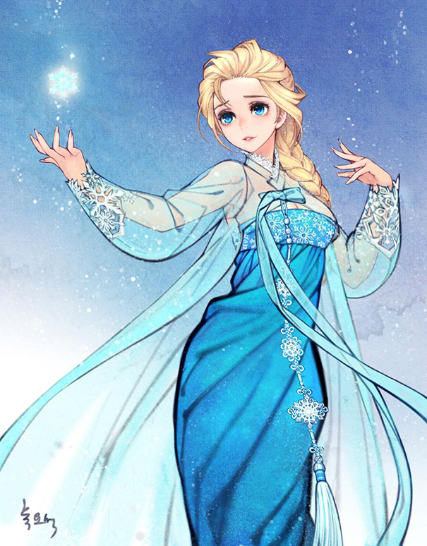 1asian-korean-disney-remake-illustration-na-young-wu-8