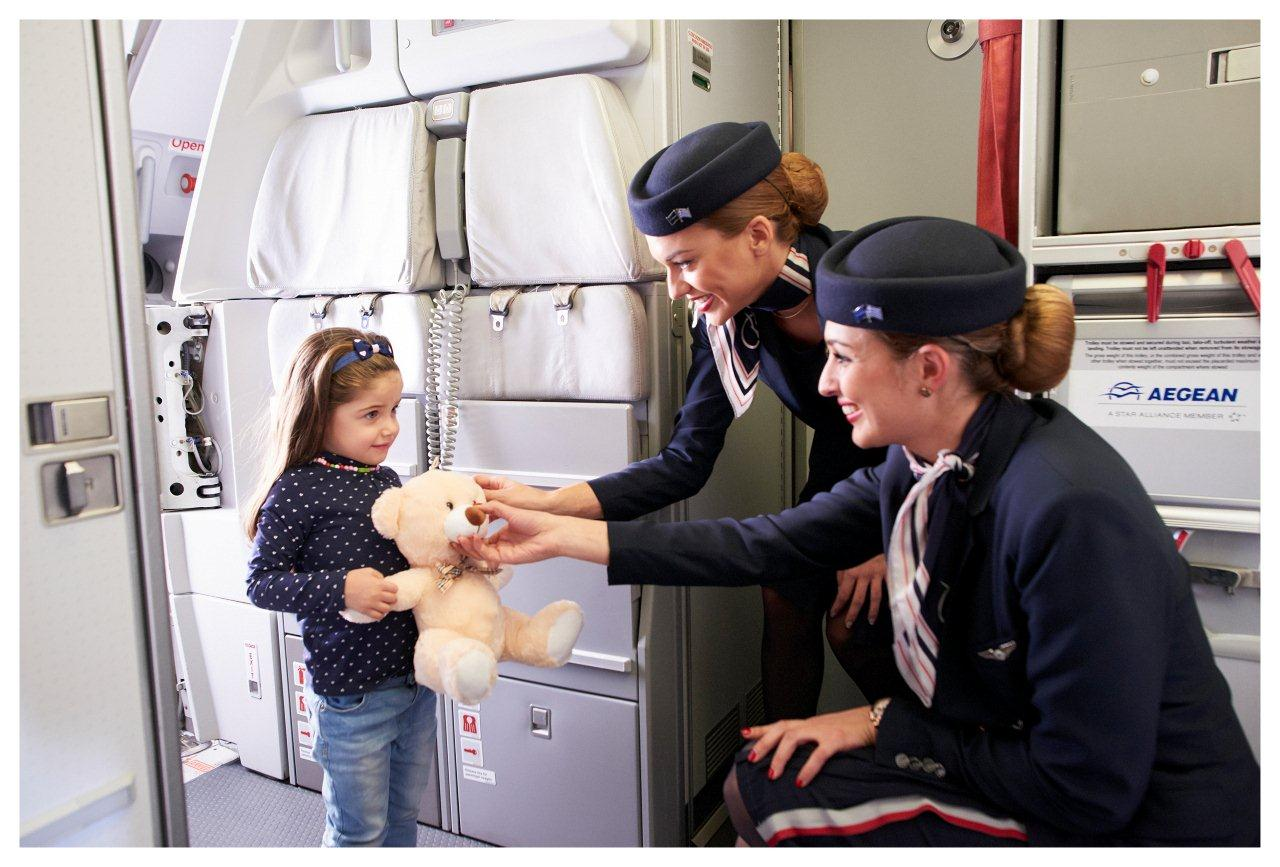 Aegean For Families on board girl low 3