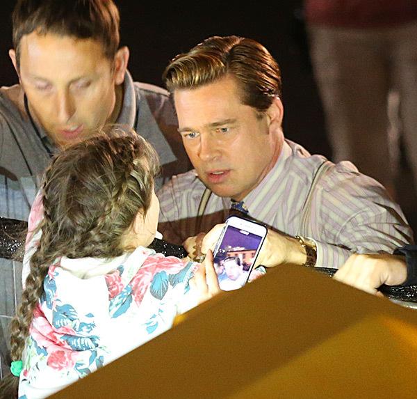 brad pitt saves little girl spl ftr