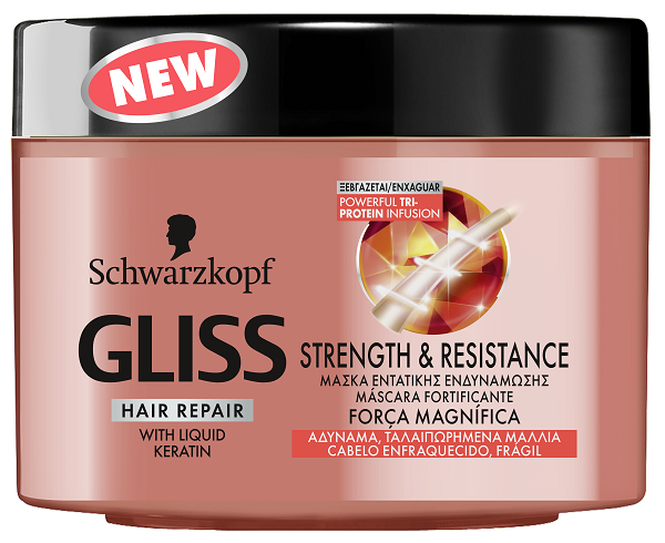 Gliss Strength Resistance Jar 200ML