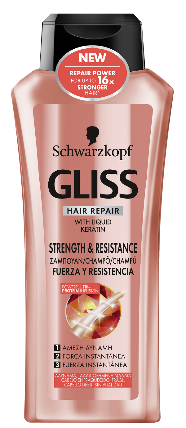 Gliss Strength Resistance SHP 400ml