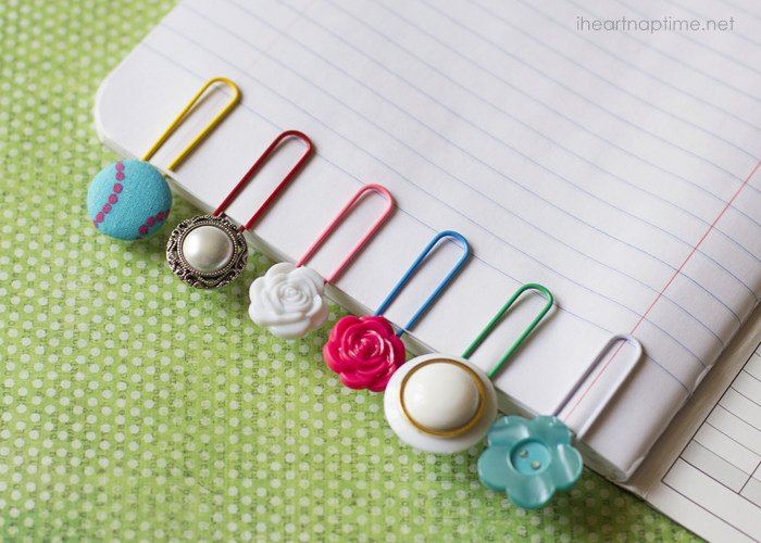 tipsaholic button bookmarks i heart naptime