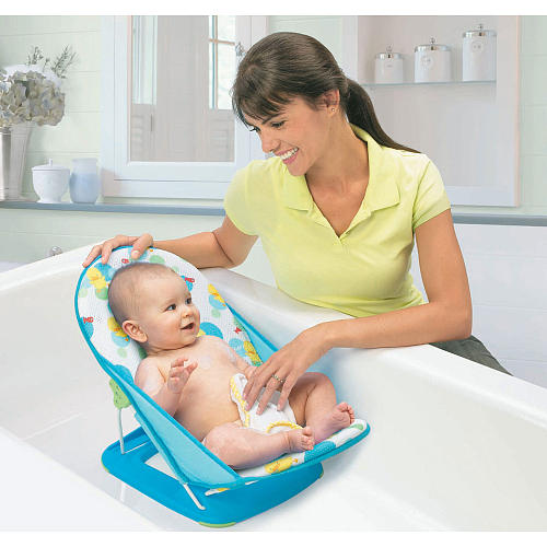 Cadeirinha para o Banho - Summer Infant - Azul