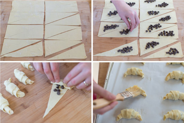 Sinfully Easy Chocolate Croissant Recipe Step 2