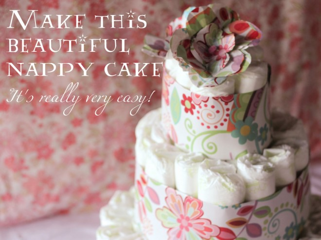 1Make this beautiful nappy cake its really very easy 660x495
