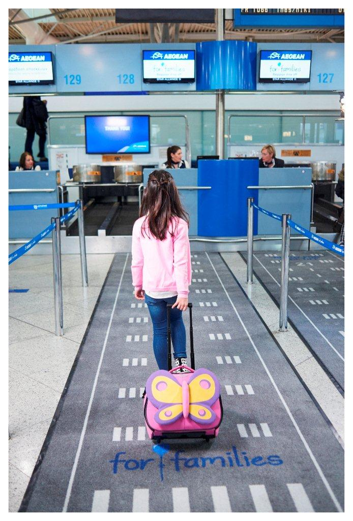 Aegean For Families check in lane low 3