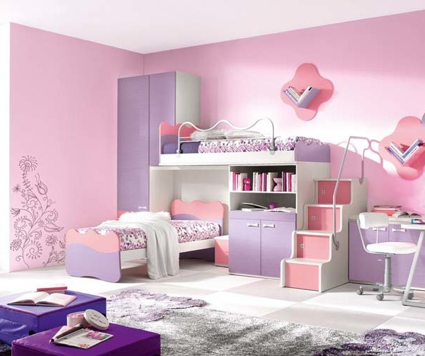 Deco for 4 year old bedroom ideas girl