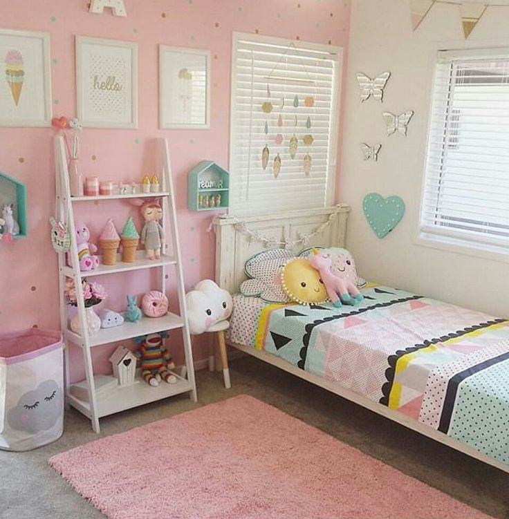 Deco for 5 year girl bedroom ideas