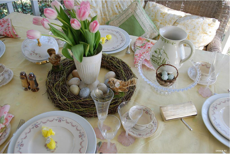 easter table decorations 34