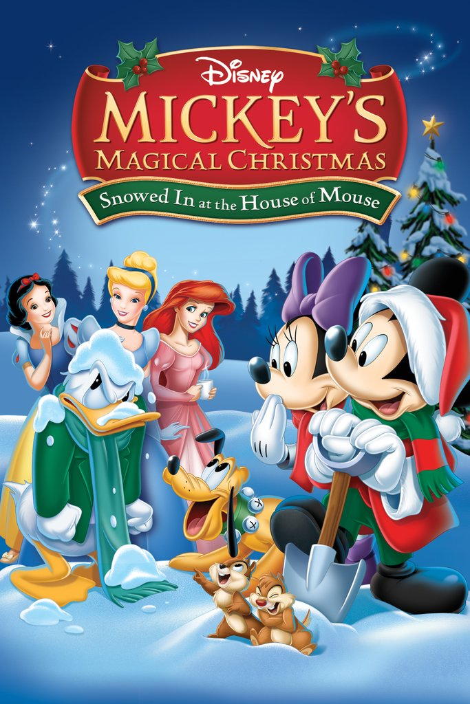 Mickey Magical Christmas Snowed House Mouse